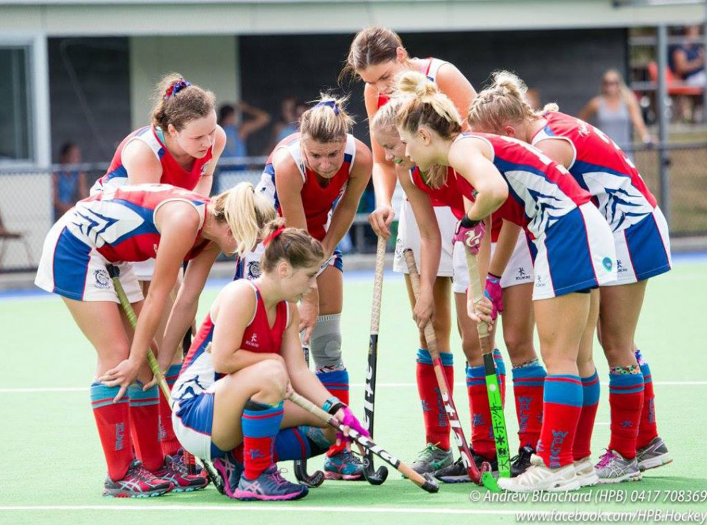 Div1 Women - photo by Hockey Photos Brisbane