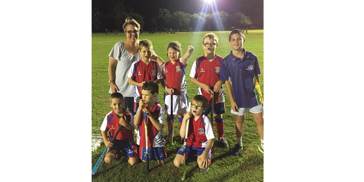 U9 Boys 2018 with Coach Stacey Cabot